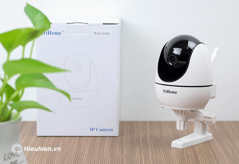 srihome sh026 camera ip wifi độ phân giải full hd 1080p - hình 12