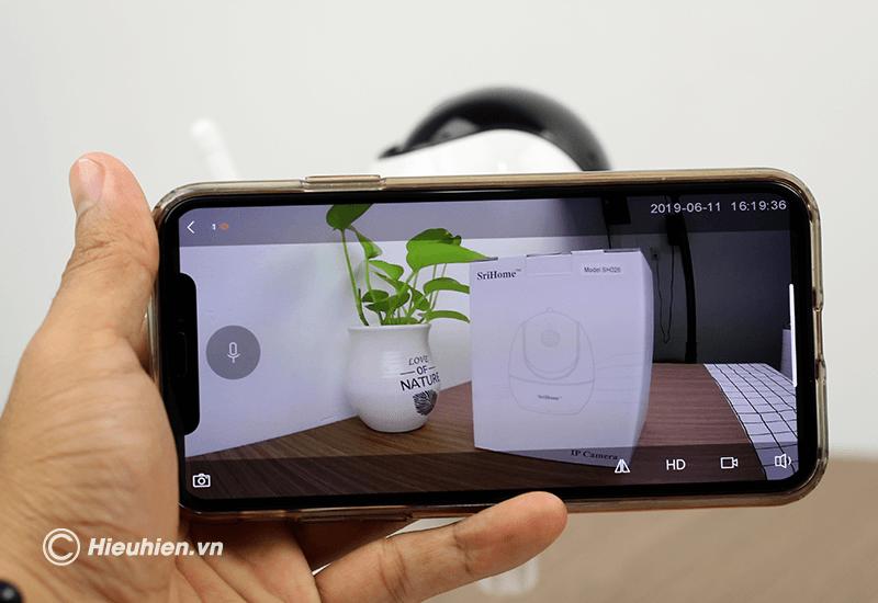 srihome sh026 camera ip wifi độ phân giải full hd 1080p - hình 14