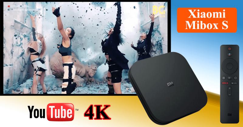 trải nghiệm xem video youtube 4k hdr trên xiaomi mibox s