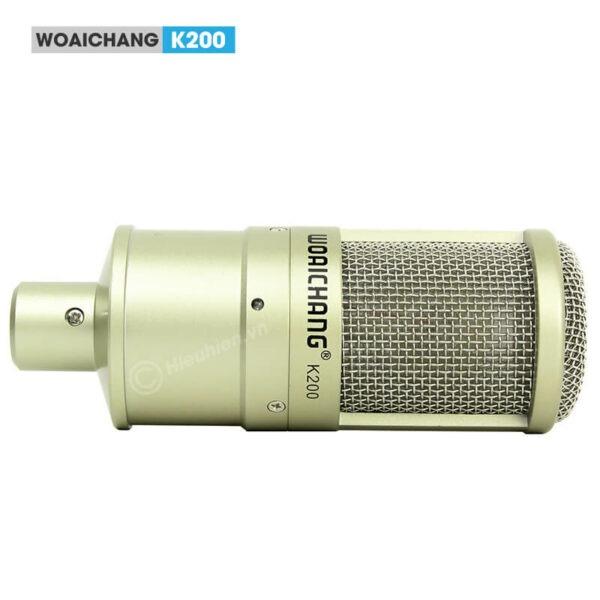 woaichang k200 - micro thu âm, hát karaoke, livestream chuyên nghiệp - hình 01