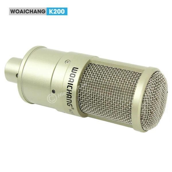 woaichang k200 - micro thu âm, hát karaoke, livestream chuyên nghiệp - hình 02