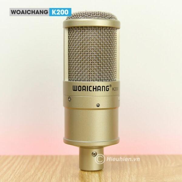 woaichang k200 - micro thu âm, hát karaoke, livestream chuyên nghiệp - hình 03