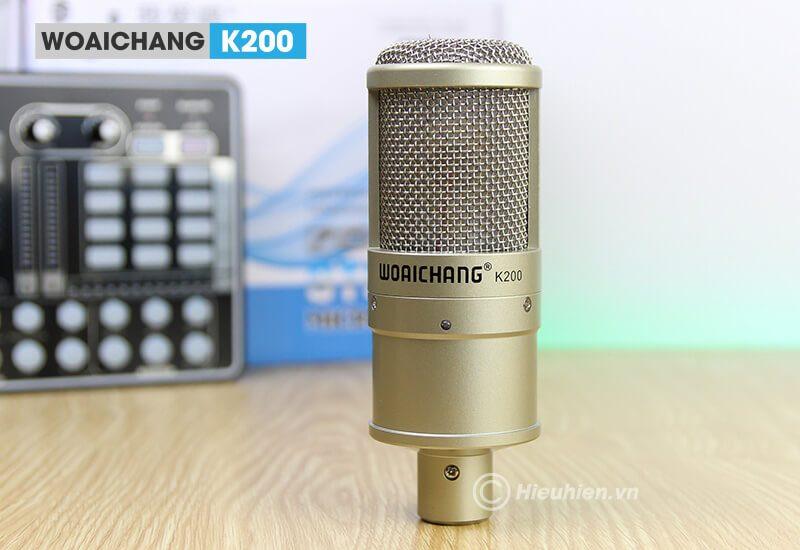 woaichang k200 - micro thu âm, hát karaoke, livestream chuyên nghiệp - hình 07