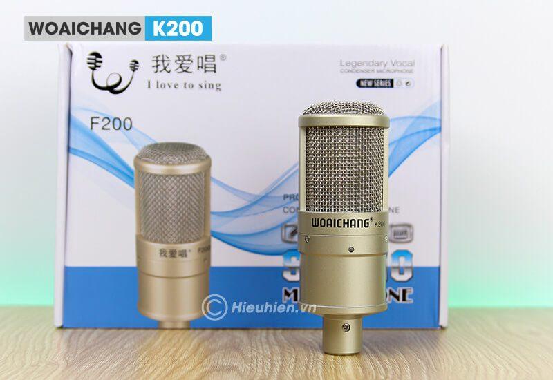 woaichang k200 - micro thu âm, hát karaoke, livestream chuyên nghiệp - hình 09
