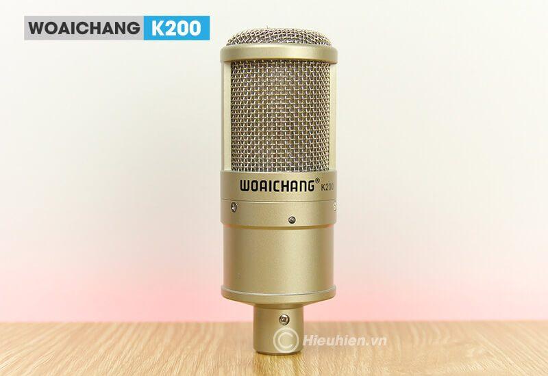 woaichang k200 - micro thu âm, hát karaoke, livestream chuyên nghiệp - hình 10