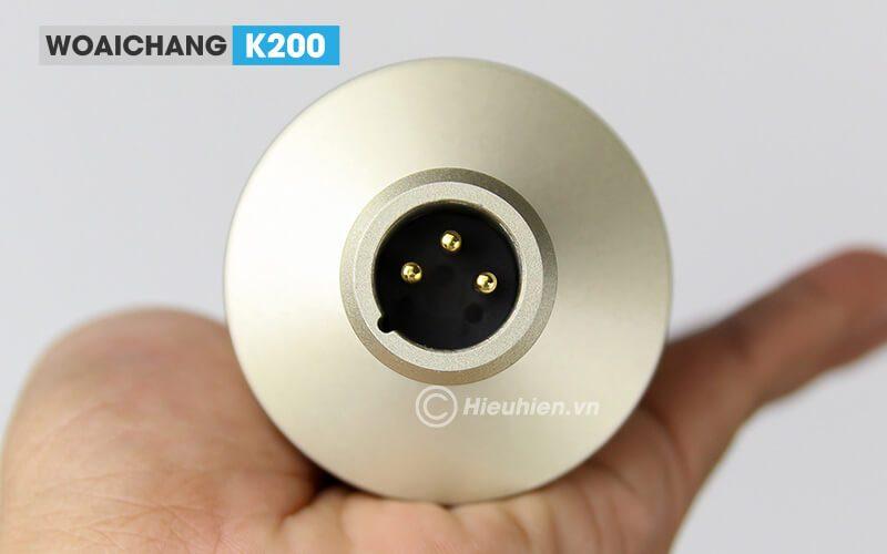 woaichang k200 - micro thu âm, hát karaoke, livestream chuyên nghiệp - hình 11