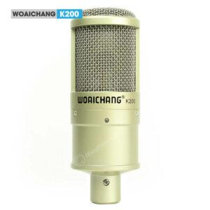 woaichang k200 - micro thu âm, hát karaoke, livestream chuyên nghiệp