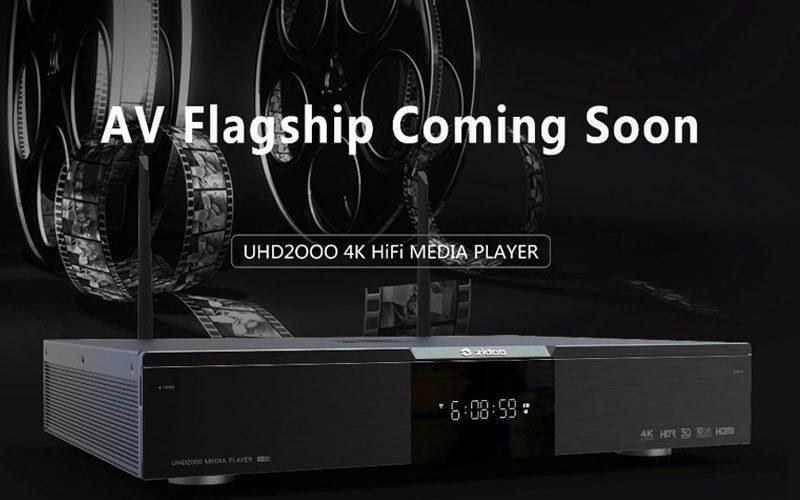 zidoo uhd 2000 - 4k av/hifi media player - đầu phát 4k hdr cao cấp - hình 01