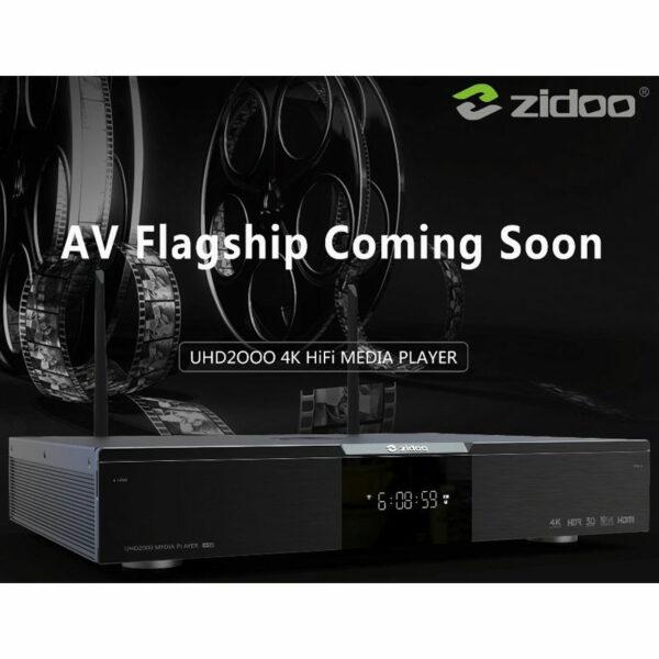 zidoo uhd 2000 - 4k av/hifi media player - đầu phát 4k hdr cao cấp