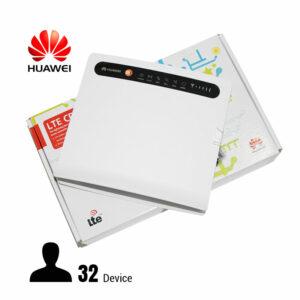 huawei b593u-91 - bộ phát wifi 3g cho ô tô xe khách, hỗ trợ 32 máy - hình 01