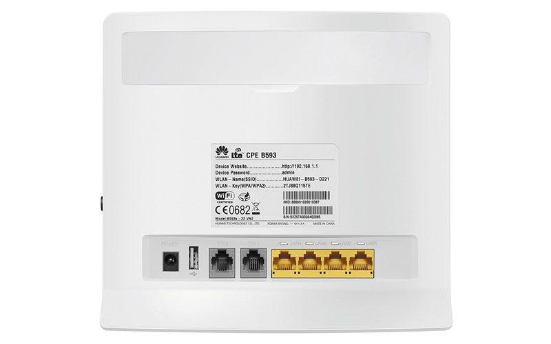 huawei b593s-22 - bộ phát wifi 4g 150mbps, hỗ trợ 32 user cho xe khách - hình 03