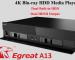 đánh giá egreat a13 - đầu phát uhd 4k player - đầu karaoke hiện đại