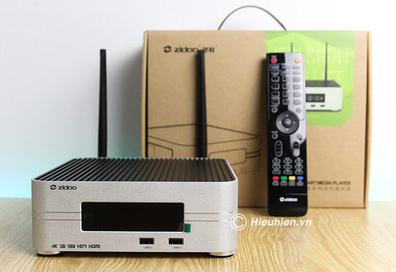 đánh giá zidoo z10 smart tv box - đầu phát hd 3d 4k hiện đại - hình 01