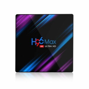 enybox h96 max 4gb/64gb, rk3318 android 9.0 tv box - hình 01