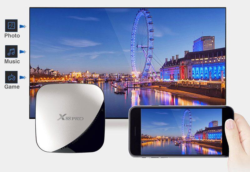 enybox x88 pro rk3318 4gb/64gb android 9.0 tv box 4k - hình 06