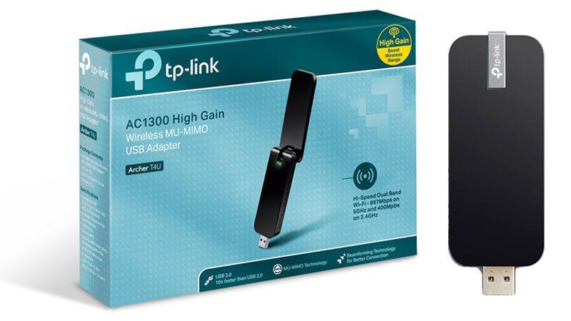 hướng dẫn cài đặt tp-link archer t4u - usb thu sóng wifi 2 băng tần - hình 01
