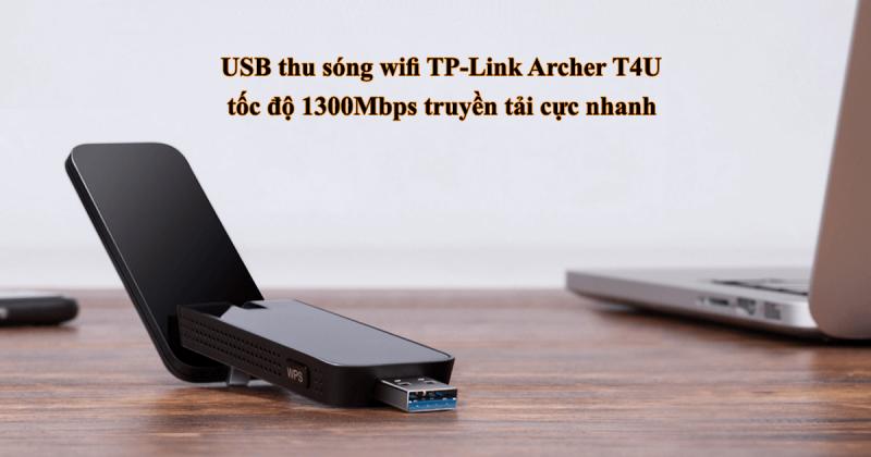 hướng dẫn cài đặt tp-link archer t4u - usb thu sóng wifi 2 băng tần