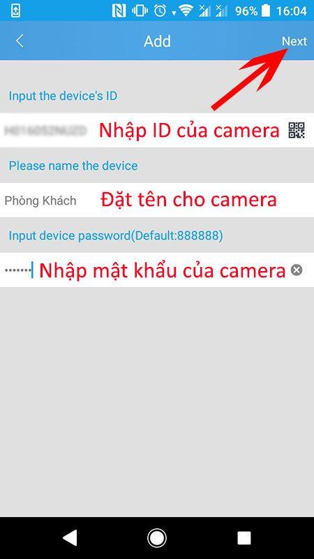 hướng dẫn cài đặt và sử dụng camera ip wifi srihome trên điện thoại - hình 07