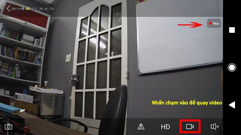 hướng dẫn cài đặt và sử dụng camera ip wifi srihome trên điện thoại - hình 10