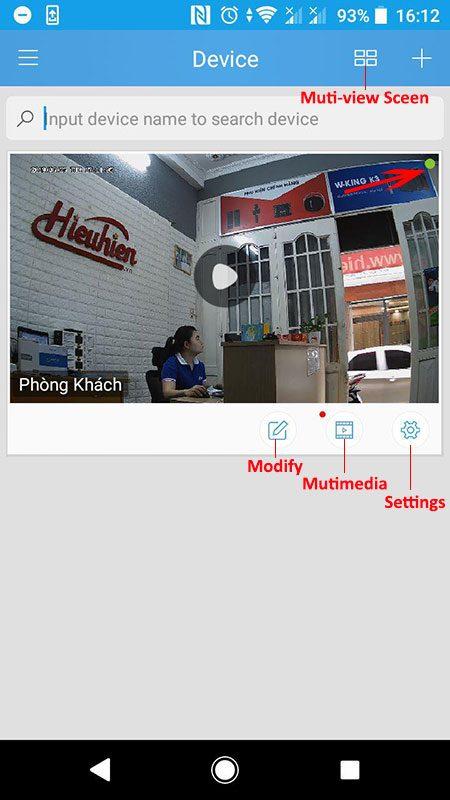 hướng dẫn cài đặt và sử dụng camera ip wifi srihome trên điện thoại - hình 11
