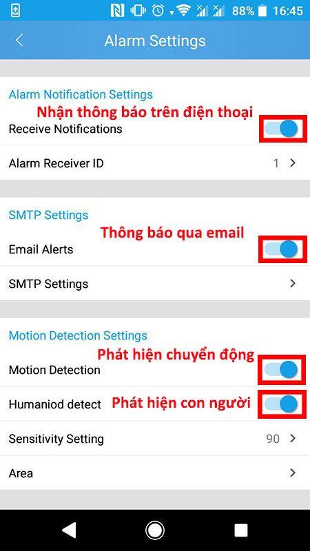 hướng dẫn cài đặt và sử dụng camera ip wifi srihome trên điện thoại - hình 17