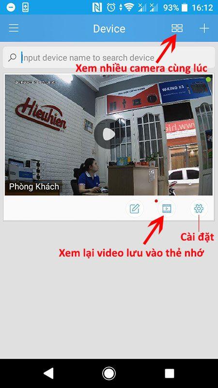 hướng dẫn cài đặt và sử dụng camera ip wifi srihome trên điện thoại - hình 25