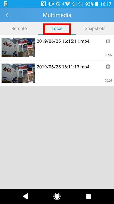 hướng dẫn cài đặt và sử dụng camera ip wifi srihome trên điện thoại - hình 27