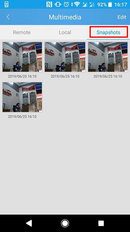 hướng dẫn cài đặt và sử dụng camera ip wifi srihome trên điện thoại - hình 28