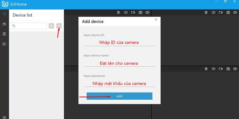 hướng dẫn cài đặt camera ip srihome xem trên máy tính, laptop - hình 05