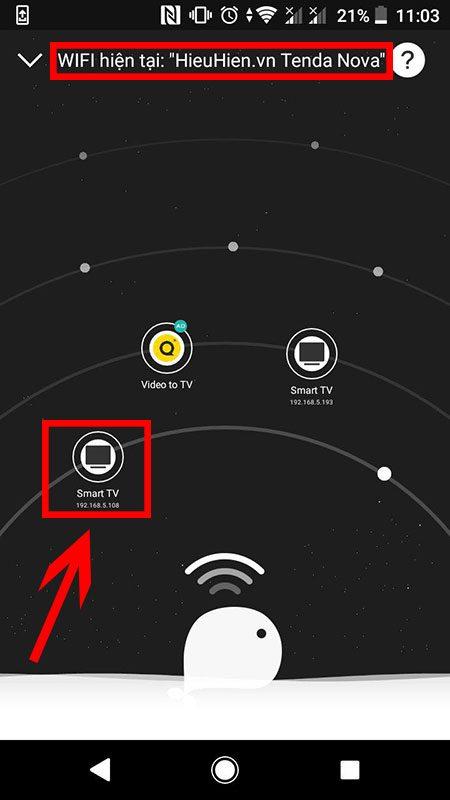 hướng dẫn điều khiển android tv box bằng điện thoại với cetusplay - hình 05
