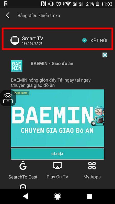 hướng dẫn điều khiển android tv box bằng điện thoại với cetusplay - hình 06