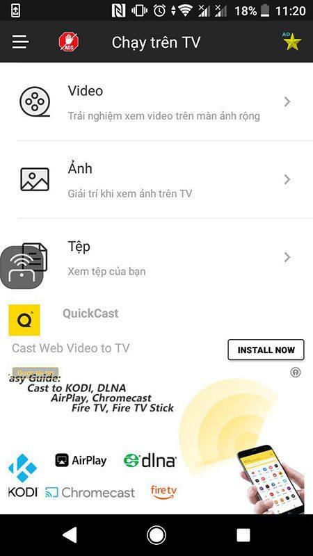 hướng dẫn điều khiển android tv box bằng điện thoại với cetusplay - hình 15