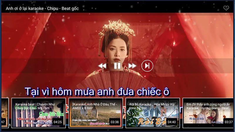 top các ứng dụng hát karaoke hay nhất dành cho android tv box - kekara