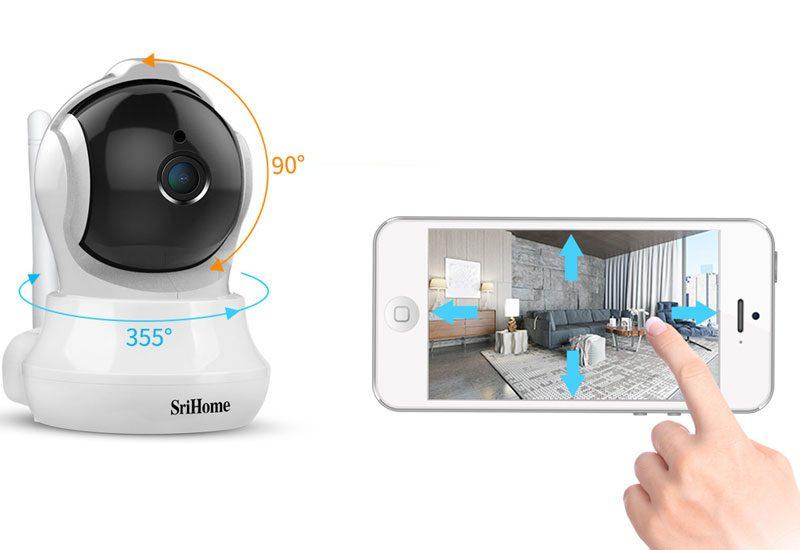 camera ip wifi srihome sh020 chất lượng full hd 1080p - hình 07