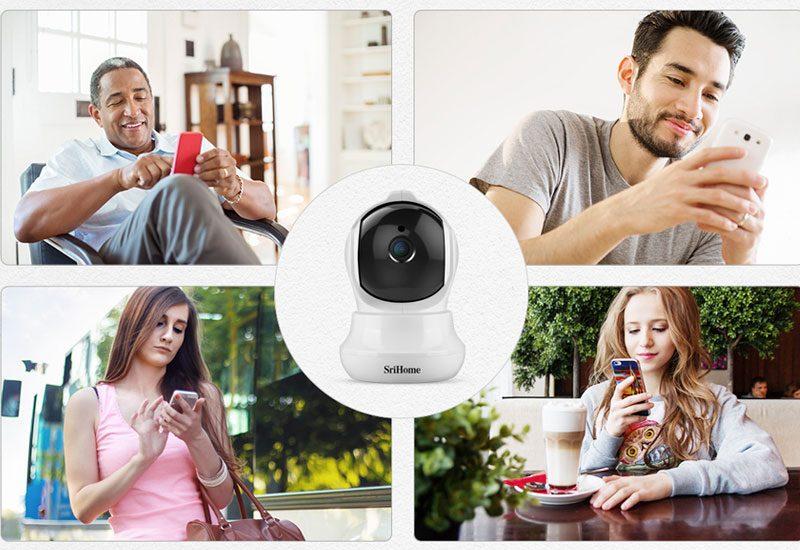 camera ip wifi srihome sh020 chất lượng full hd 1080p - hình 08