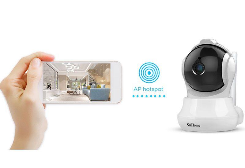 camera ip wifi srihome sh020 chất lượng full hd 1080p - hình 09