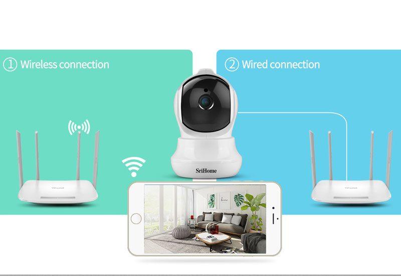 camera ip wifi srihome sh020 chất lượng full hd 1080p - hình 12