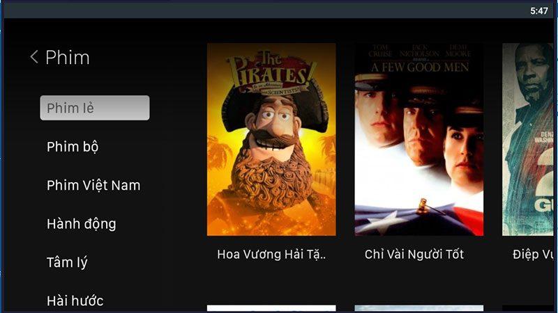 top ứng dụng xem phim miễn phí tốt nhất trên android tv box - hình 09
