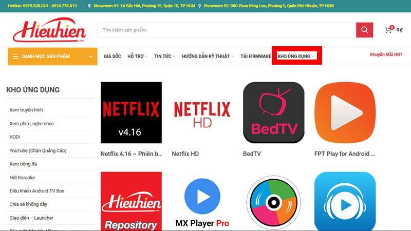 top ứng dụng xem phim miễn phí tốt nhất trên android tv box - hình 10