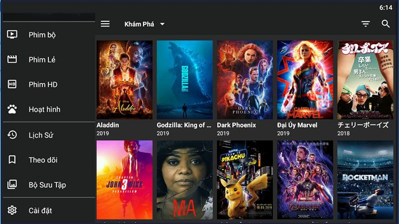 top ứng dụng xem phim miễn phí tốt nhất trên android tv box - hình 12