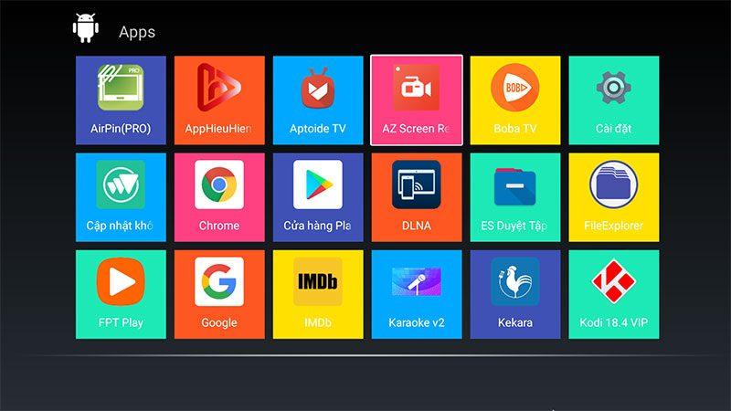 android tv box t9 android 9, chip xử lý rockchip rk3318, ram 4gb, rom 64gb - hình 15