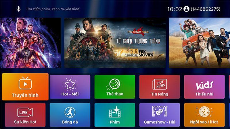 android tv box t9 android 9, chip xử lý rockchip rk3318, ram 4gb, rom 64gb - hình 21