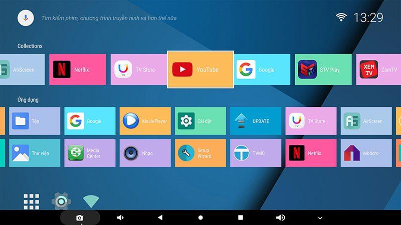 android tv box enybox a95x f2 4gb ram, 32gb rom chip xử lý s905x2 hệ điều hành android 9.0 - hình 05