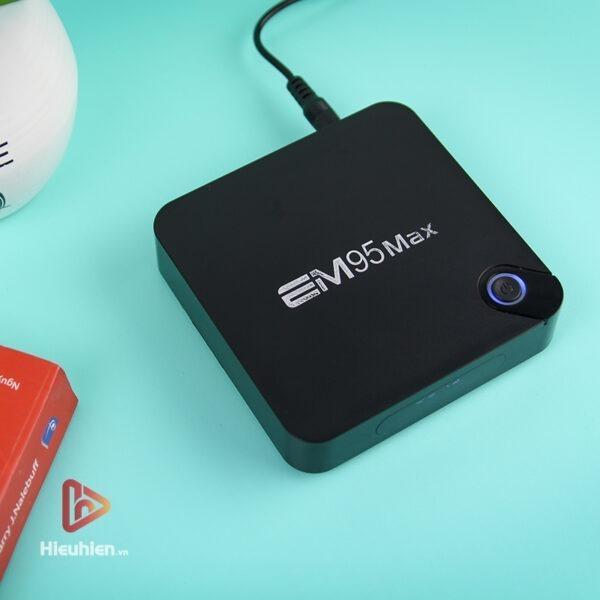 android tv box enybox em95 max ram 2gb, rom 16gb, chip xử lý amlogic s905x2, hệ điều hành android 9 - hình 01