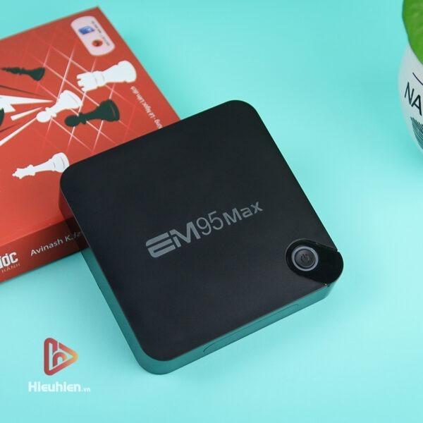 android tv box enybox em95 max ram 2gb, rom 16gb, chip xử lý amlogic s905x2, hệ điều hành android 9 - hình 03