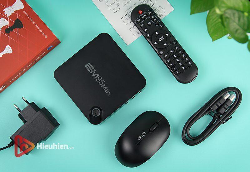 android tv box enybox em95 max ram 2gb, rom 16gb, chip xử lý amlogic s905x2, hệ điều hành android 9 - hình 15