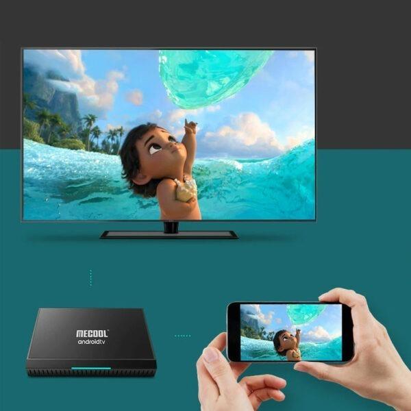 mecool km9 pro classic android tv 9.0 chip s905x2 2gb/16gb - hình 05