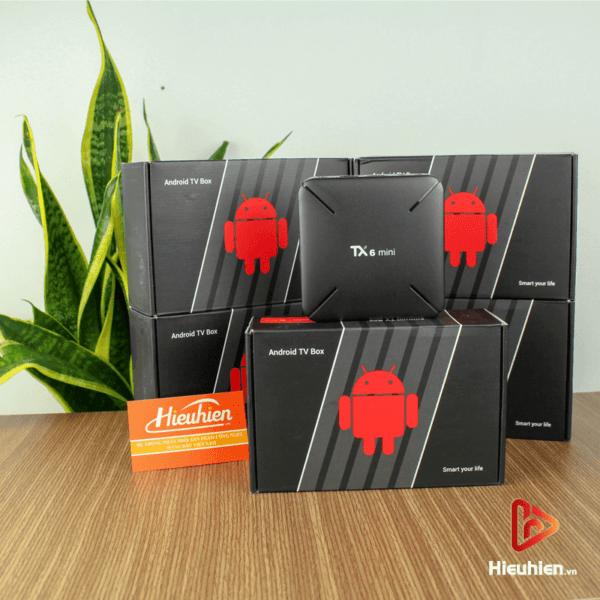 android tv box tanix tx6 mini trang bị cấu hình ram 2gb, rom 16gb, chíp xử lý allwiner h6, chạy hệ điều hành android 9 - hình 06