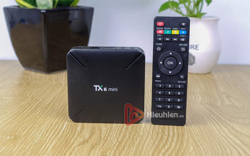 android tv box tanix tx6 mini trang bị cấu hình ram 2gb, rom 16gb, chíp xử lý allwiner h6, chạy hệ điều hành android 9 - hình 07