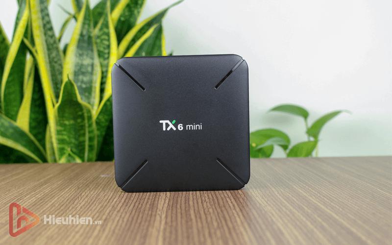 android tv box tanix tx6 mini trang bị cấu hình ram 2gb, rom 16gb, chíp xử lý allwiner h6, chạy hệ điều hành android 9 - hình 08